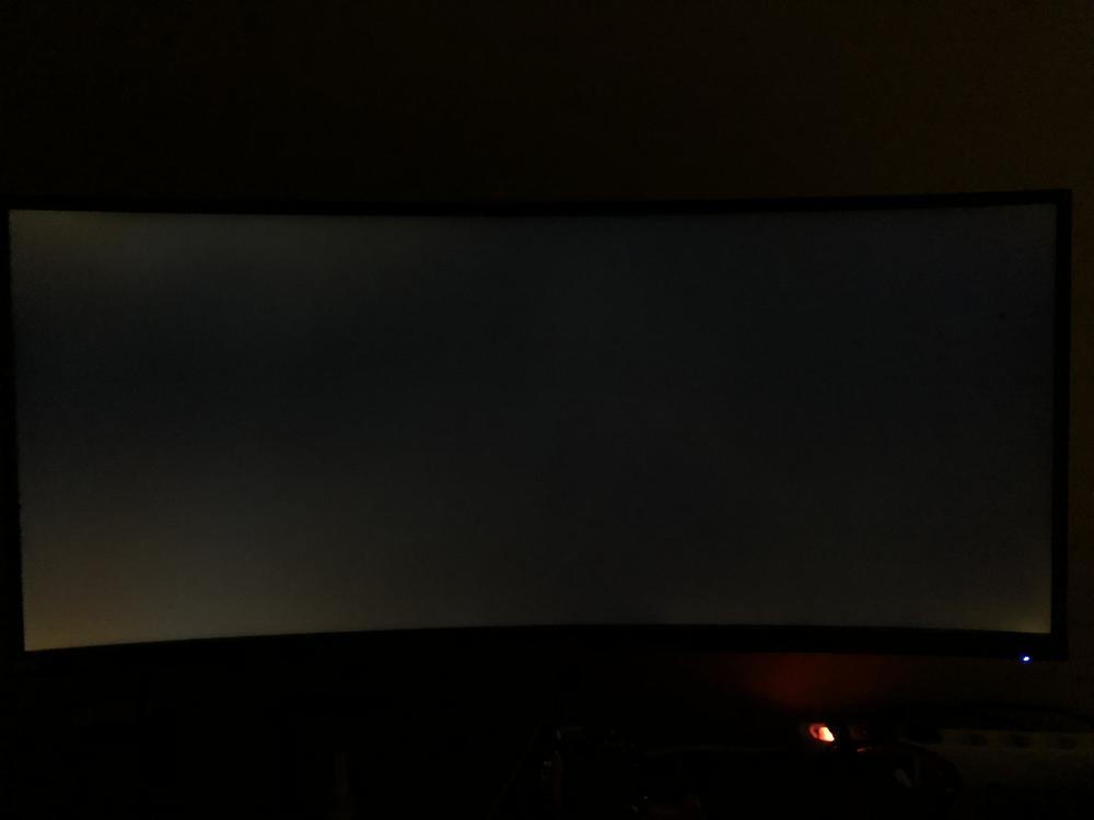 Acer X34P Backlight Bleed IPS Glow