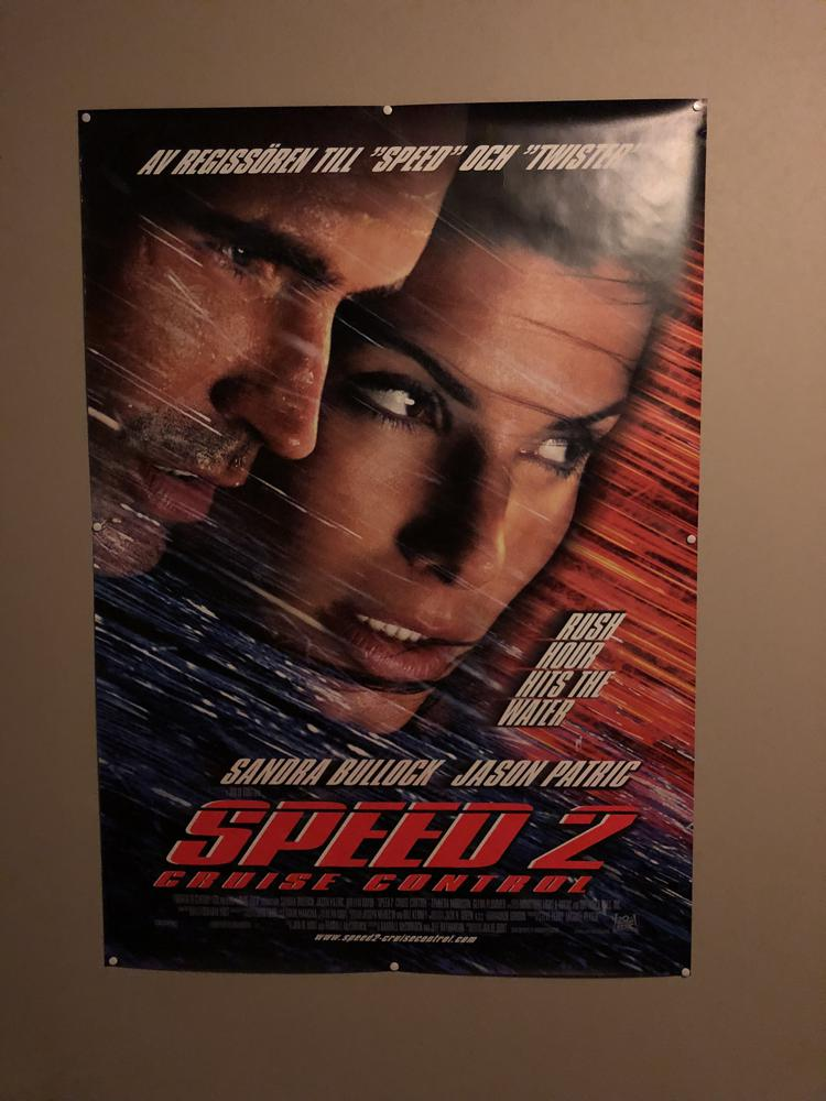 Speed 2 Poster
