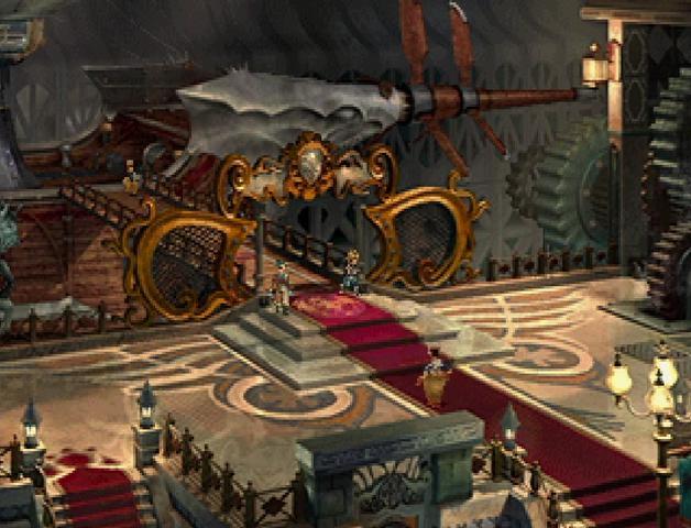 Lindblum Engine Room