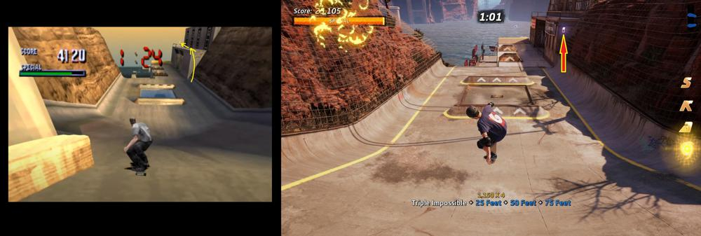 Downhill Jam difference