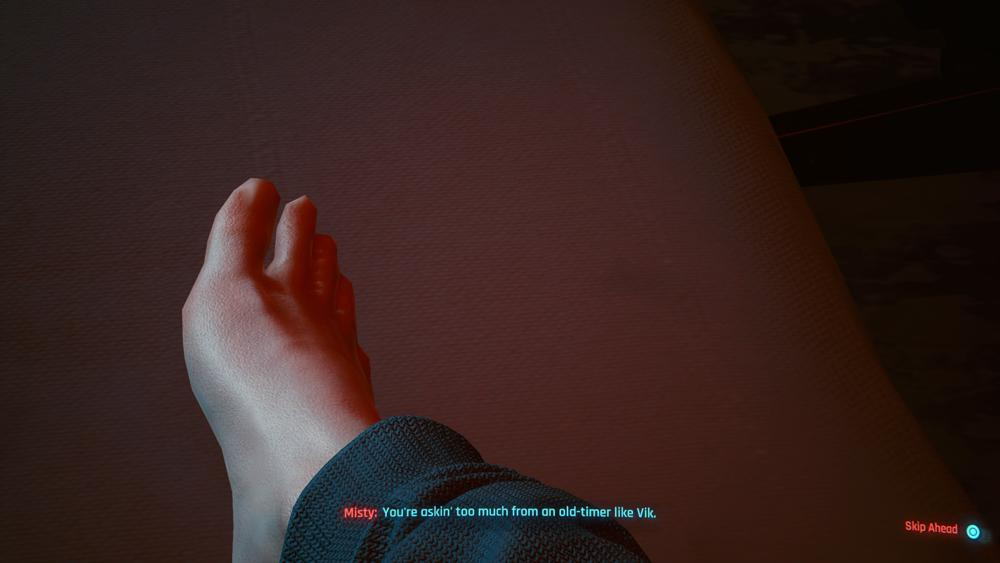 No toenails